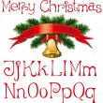 Christmas alphabet — Stock Vector #4218527