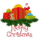 Christmas gifts — Stock Vector