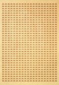 Papel amarillento con patrón de coche — Foto de Stock