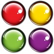 Colored buttons on gray background — Stock Vector #4345700