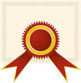 Diplom-stempel — Stockvektor