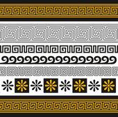 Ornamento de grecia — Vector de stock