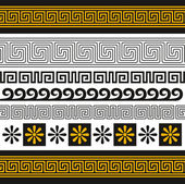 řecko ornament — Stock vektor