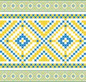 Ukrainian pattern — Stock Vector