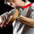 Stock Photo: Male with guitar