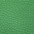 Stock Photo: Piece of green leather 2