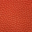Piece of red leather 2 - Stock Photo
