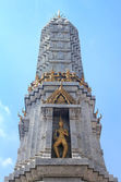 Temple Under A Blue Sky in Bangkok — Stock Photo