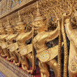 Golden Garuda at Wat Phra Keao Temple, Bangkok Thailand — Stock Photo