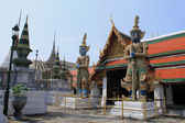 Thai Authentic Architecture in Bangkok — Stock Photo