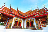 Budda temple building — Stock Photo