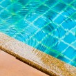 Stock Photo: Surface water on pool