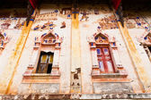 Ancient thai buddrist windows — Stock Photo