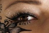 Oeil maquillage — Photo