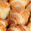 Cookies in the form of small croissant — Stock Photo