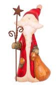 Керамический Санта — Stock Photo