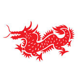 Chinese Astrology Dragon — Stock Vector