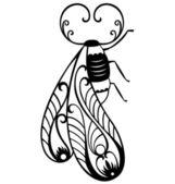 Decorative Bug — Stock Vector