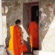 Stock Photo: Thai monks