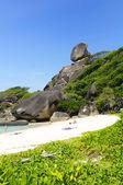 Isla similan — Foto de Stock