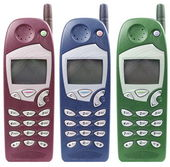 Old mobile phone — Stock Photo