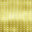 Abstract template golden metal texture with rivet — Stock Photo
