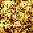 Stock Photo: gold mosaic background — Stock Photo