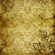 Stock Photo: Absract retro gold flourish classical template