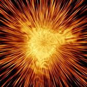 Fireworks, Also See Jpeg In My Portfolio — Stock Photo
