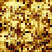 Stock Photo: gold mosaic background — Stock Photo