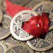 Chinese coins — Stock Photo