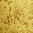 Stock Photo: Retro luxury floral engraving wallpaper