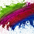 Royalty-Free Stock Photo: Blot paint