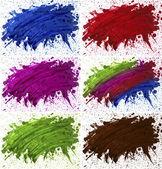 Blot paint — Stock Photo