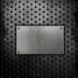 metal surface — Stock Photo