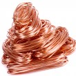 Copper wire - Stock Photo