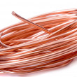Copper wire — Stock Photo #5350476
