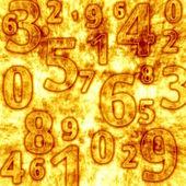 Nummers — Stockfoto