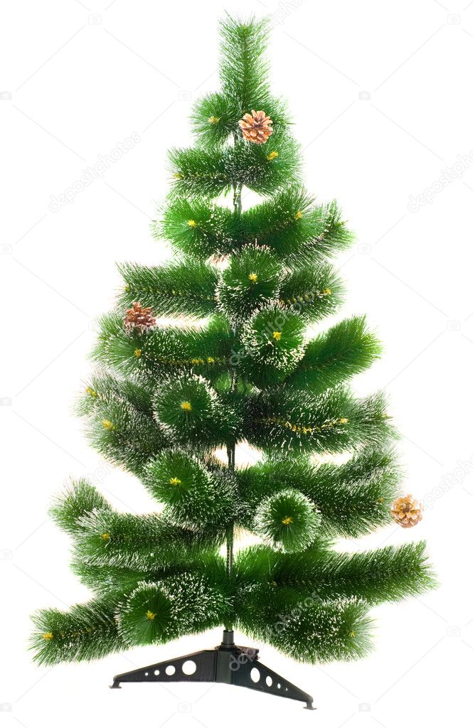 The Christmas tree ready to decorate   Stock Photo #5358296