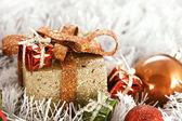 Christmas boxes — Stock Photo