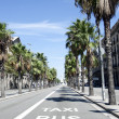 streetview barcelona — Stock Photo