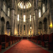 Interior of Santa Maria del Mar in Hdr — Stock Photo #4090454
