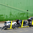Stock Photo: Car Transporter