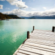 Royalty-Free Stock Photo: Pier at fjord