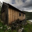 Stock Photo: Old House in Hdr