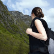 Woman hiker 3 — Stock Photo