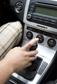 Easy Gear Shifting — Stock Photo