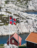Norwegian Flag — Foto de Stock