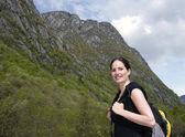 Woman hiker 2 — Stock Photo