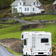 Stock Photo: Motorhome